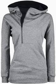 <b>Flocking Front Zip Hoodie</b>   North face hoodie, Fashion, Girl hooded ...