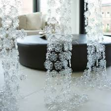 Christmas Decorations Made Out Of Plastic Bottles Christmas decorations Snowflakes made out of plastic bottles 33