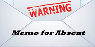 Employee Absent Sample Memo For Absent To Employee Without Permission
