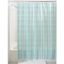 Buy Interdesign Peva Helix Shower Curtain By Inch Aqua