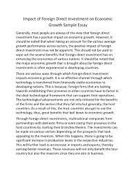 of economy essay of economy