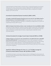 Cio Sample Resume Simple ♬ 48 Sample Business Resume