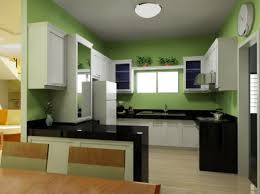Green And White Kitchen Small Green Kitchen Island Quicuacom