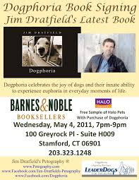 book signing flyer dogphoria book signing stamford ct tao the way of the dog