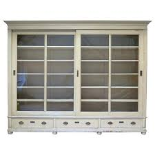 bookcase with glass doors and drawers sliding door billy medium size of ladder bookcase review small