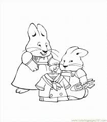 Small Picture Max And Ruby Printable Coloring Pages Kids Coloring