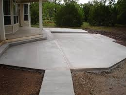 concrete slab patio. Concrete Slab Patio Design Ideas D