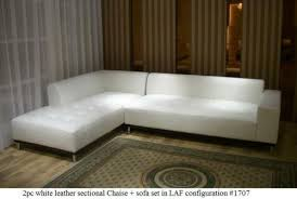 modern design red leather sectional