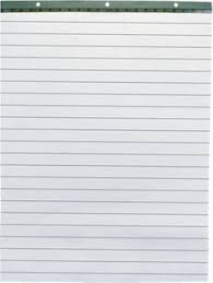 Lined Flip Chart Pads Roco Flip Chart Pad White