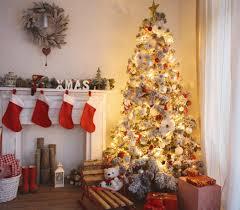 Christmas Tree At Home Stock Image Image Of Package  35415489At Home Christmas Tree