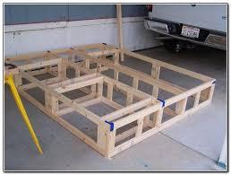 California King Platform Bed Frame Plans | apartment | Pinterest ...