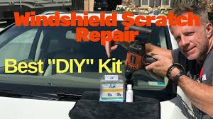 windshield scratch repair best diy scratch repair kit