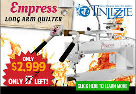 Tin Lizzie 18 Long Arm Quilting Machine w/ Stitch Regulator ... & Tin Lizzie 18-inch Empress Long Arm Quilting Machine Adamdwight.com