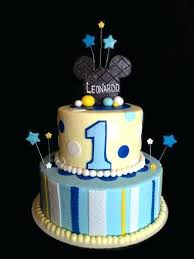1st Birthday Cake For Baby Boy With Name Wonderful Wishes And