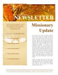 Free Christian Newsletter Templates Magdalene Project Org