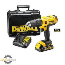 dewalt impact drill 18v. image is loading dewalt-18v-cordless-combi-drill-dcd776-1-5ah- dewalt impact drill 18v