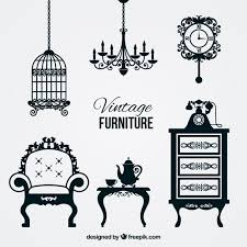 vintage furniture logo. Vintage Furniture Logo M