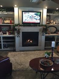 recent fireplace work