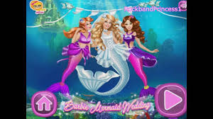 barbie mermaid games