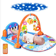 Baby foot piano music newborn games fitness frame blanket 0 and 1 ...