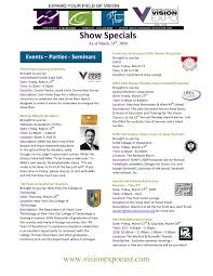 Hoya Array Centration Chart Vision East Show Specials V11 By Reed Exhibitions Issuu