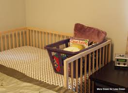 turn a crib into a side car co sleeper