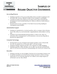 Software Engineer Internship Resume Luxury Intern Resume Objective