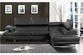 Exellent Modern Black Leather Couches Contemporary Sofa And Sectional Couch Adjustable Throughout Innovation Design
