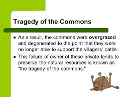 tragedy of the commons garrett hardin ppt video online 14