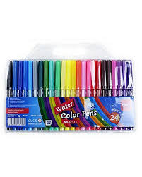 set of 24 student water color pen multi color