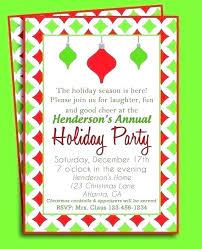 Company Holiday Party Invitation Wording Holiday Party Invitation Wording Examples Assa Me