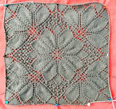 Knitted Lace Patterns Interesting Design