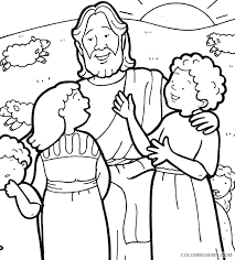 These coloring sheets tell the story of jesus through pictures. Printable Jesus Coloring Pages For Kids Coloring4free Coloring4free Com