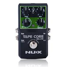 <b>NUX</b> Tape Core Deluxe Echo <b>Effect Pedal</b>, 7 Models Delay <b>Effects</b> ...
