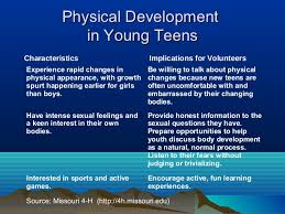Ages Stages Of Adolescent Development