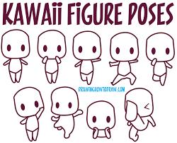 Guide To Drawing Kawaii Characters Part 1 How To Draw Kawaii
