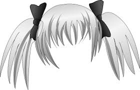 Manga Girl Hair Coloring Pages Hairstyles Haircuts Free