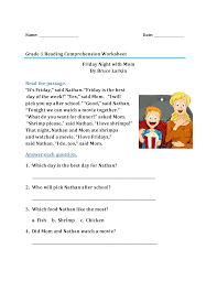 Free interactive exercises to practice online or download as pdf to print. Phonics Worksheets First Grade Reading Comprehension Samsfriedchickenanddonuts