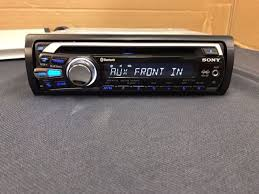 sony mex bt usb cd player mp in dash receiver sony mex bt2700 built in bluetooth cd mp3 front aux in player car radio