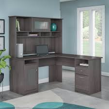 l shaped desk with hutch.  Hutch Shop Cabot L Shaped Desk With Hutch  Free Shipping Today Overstockcom  10763258 And With