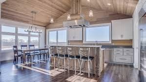 1 kitchen shiplap ceiling and walls