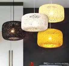 woven pendant light interior nest rattan woven pendant light retro lamp birdcage exclusive woven pendant light