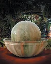 ball and bowl outdoor water fountain fountains art pros ball water fountain t93