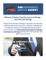 evolve car insurance in chicago il auto insurance by car insurance chicago il issuu