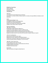Truck Driving Resume Elegant Top Truck Driver Resume Templates Free