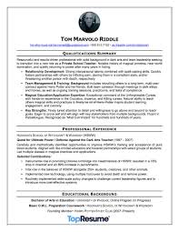 we helped harry potters nemesis rewrite his resume topresume - Harry Potter  Resume