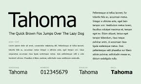 Font For Resume Size Name Reddit And Cover Letter Tahoma What Fonts