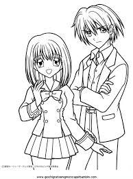 Immagini Manga Da Colorare Az Colorare