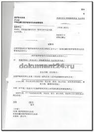 КНР Легализация справки об отсутствии судимости Блог Документ  3