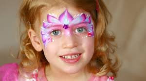fairy princess face painting and makeup tutorial perfect for very young girls you